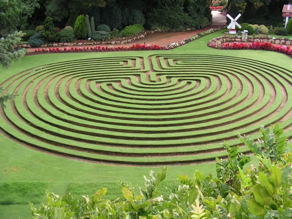 Labyrinths On Pinterest Labyrinth Garden Maze And Spirals